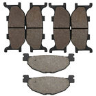 F+R Brake Pads For YAMAHA YP 400 Majesty (Non ABS) 04-13 YP 400 Majesty (ABS) 07