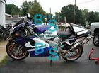 Blue White TL1000R Fairing+Tank Bodywork Kit Set Fit Suzuki TL 1000R 98-03 62 B1