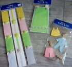 3 Packages Paper Bliss Baby Embellishments 3 D Stickers Buttons etc