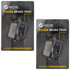 Niche Brake Pad Set Honda XR650L CR125R CR250R Suzuki Rear Organic 2 Pack