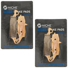 Niche Brake Pad Set Kawasaki Vulcan 800 900 Front/Rear Ceramic 2 Pack