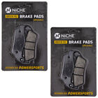 Niche Brake Pad Set BMW K1200S K1300S K1300R 34218541388 Rear Organic 2 Pack