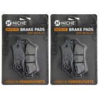 Niche Brake Pad Set BMW K1200S K1300S K1300R K1200R Rear Semi-Metallic 2 Pack