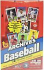 2019 Topps Archives Baseball FACTORY SEALED Hobby 10 Box Case FREE S