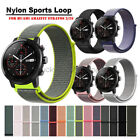 Nylon Sport Loop Watch Band Strap For Huami Amazfit Stratos 2 2S Smart Watch