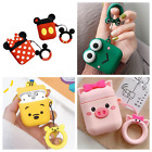 Mickey Minnie Mouse AirPods Case For AirPods Charging Case With Key Ring Stra