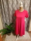 Lularoe Carly solid pink size extra small  XS NWT