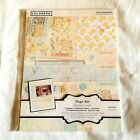 Colorbok Page Kit Scrapbooking Supplies 125 Pieces Acid Free Assorted Baby Theme