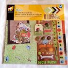 American Traditional Designs Dogs Scrapbooking Page Kit 12 x 12 inch 100 Pieces