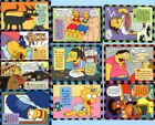 The Simpsons - 1994 Skybox Series 2 Smell-o-rama Set of 10