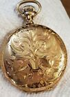 Rare Vintage Waltham 21j Crescent st Hunter case Pocket Watch