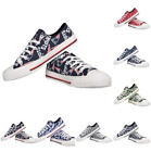 NFL Womens Low Top Repeat Canvas Shoes