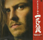 Andrew W.K. The Wolf Japanese 2-disc CD/DVD set promo UICL-9013 ISLAND 2003