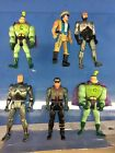 R191 Vintage 80s 90s Mixed lot Various Robocop Kenner Toy Island Figures