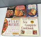 Lot of 5 Vtg Weight Watchers Cookbooks