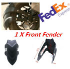 1x Metal Front Fender Protector Mudguard Cover For 16
