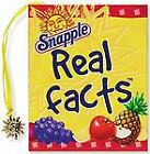 Snapple Real Facts Mini Book Charming Petites by Peter Pauper Press