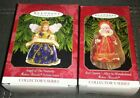 2 ~Hallmark 1999 Angel of the Nativity /  Red Queen Madame Alexander Holiday