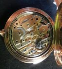 PATEK PHILIPPE 18K GOLD 5 MINUTE REPEATER HC POCKET WATCH WITH ARCHIVE LETTER