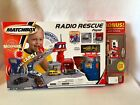 2001 Matchbox Radio Rescue Playset w 2 Vehicle  Microphone included NEW