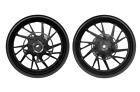 MOS Forged Aluminum Alloy Wheels Set for Yamaha T-MAX 2012-2016 ABS Matt Black