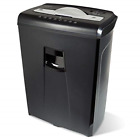 High-security 6-sheet Micro-cut Paper Credit Card Shredder Wastebasket 32 Inches