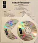 RADIO SHOW: ROCK OF THE CENTURY 9/13/99 THE ROLLING STONES w/MONTAGE