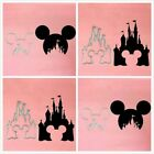 Mickey Minnie Mouse Head Castle Metal Cutting Dies Stencils for Scrapbooking DIY