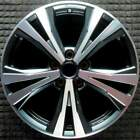 Nissan Rogue Machined w Charcoal Pockets 18 inch OEM Wheel 2017 2020