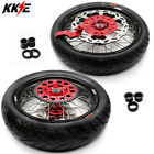 KKE 3.5/4.25*17 XR650R 2000-2008 CST TIRE SUPERMOTO MOTARD WHEELS SET FIT HONDA