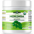 PURA VIDA Moringa Powder - USDA Certified Organic - Premium Single Origin 8oz.