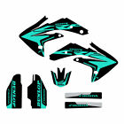 Honda CRF150R 2007-2017 graphics kit black/mint FREE SHIPPING!!!