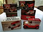 Texaco Die Cast Truck Banks