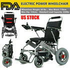 Electric Wheelchair Folding Lightweight Power Medical Mobility Aid Motorized FDA