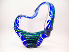 Swirl Art Glass Sculpture Signed Englesby