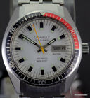 Vintage Caravelle by Bulova Set O Matic Automatic 666 Feet Divers Dual Day N7