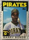 BARRY BONDS 1986 TOPPS TRADED # 11T