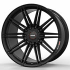 19 MOMO RF 10S Gloss Black 19x9 19x10 Concave Wheels Rims Fits Nissan 350Z