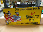 NICE SUNOCO OIL SIGN PORCELAIN