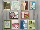 10 Handmade Thank You Appreciation greeting cards envelopes Stampin Up +more
