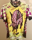 Vintage 1997 Primal Wear Pig Newton Cycling Jersey Mens Small
