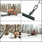 4 ft Universal Snowblade Lawn Tractor Snow Blade Plow Mower Attachment Lawnmower