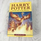 Harry Potter and the Order of the Phoenix J K Rowling First Edition