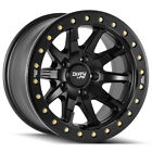 4 Dirty Life 9304 DT 2 17x9 8x65 12mm Matte Black Wheels Rims 17 Inch
