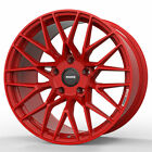18 MOMO RF 20 Red 18x85 Concave Forged Wheels Rims Fits Volkswagen Rabbit