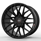 19 MOMO RF 20 Gloss Black 19x85 19x10 Concave Wheels Rims Fits Nissan 350Z