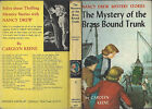 NANCY DREW 17 BRASS BOUND TRUNK 1962A 45 1ST PICTURE COVER 1ST REVISED COVER