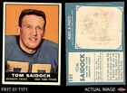 1961 Topps Football Cards 11