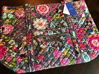 VERA BRADLEY 2019 Iconic Large Zippered Tote MICKEY AND FRIENDS Disney New