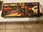 1964 Aurora Wolfman's Wagon #458-98 Model Kit Complete High Grade C-9+
